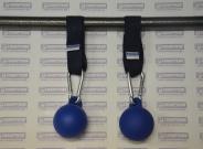 Шары для подтягиваний (диаметр 80 мм) со стропой-креплением.