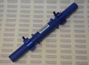 Гриф гантельный диаметром 60 мм от компании СИЛАРУКОВ с замками.