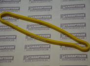 Эспандер-кольцо короткий резиновый Силаруков (нагрузка №2, желтый, окружность 60